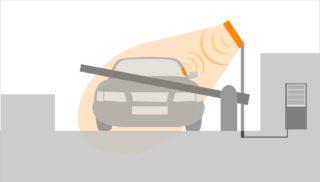 ВЖК KASKAD Park длябудущих жителей установили инновационные электронные автометки