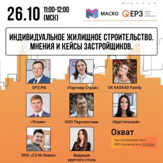 Сегодня Екатерина Коган примет участие вонлайн-конференции «Индивидуальное жилищное строительство»